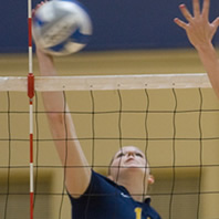 Volleyball Finishes 3-1 at Home Tourney