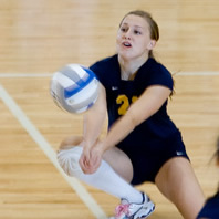 Volleyball Picks up Two Wins at NWC Triangular