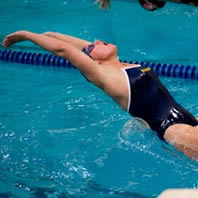 Women's Swimming & Diving Defeats UW-River Falls