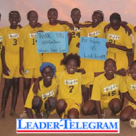 Leader-Telegram Special: Former Blugold lends helping hand in Burkina Faso