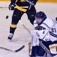 Men's Hockey Unable to get Past Stevens Point