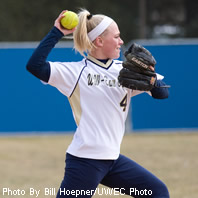 Softball Allows Early Runs in Two Losses at Simpson
